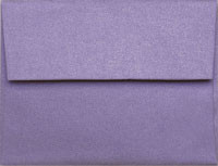 Clearance 50 Pack Stardream Amethyst A-7 Metallic Envelope