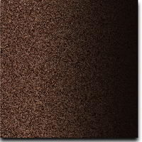 "Solid Glitter Cardstock Dark Chocolate 12"" x 12"" cover weight"