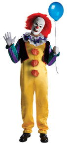 """Pennywise Licensed """"IT"""" Movie Costume"""