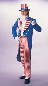 Uncle Sam 4th of July Patriotic Men's Costume