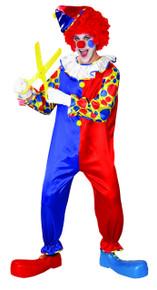 Bubbles the Clown Adult Costume