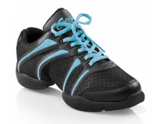 "Capezio ""Bolt"" Dansneaker Black w/ Assorted Colors"