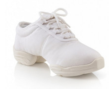 Canvas Dansneaker Solid Color Split Sole