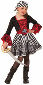 Miss Matey Child's Pirate Costume