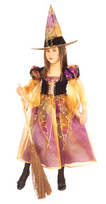 Elegant Witch Girl's Costume
