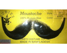 Handlebar Moustache 100% Human Hair Theatrical Quality