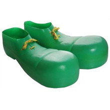 Clown Shoes Plastic in Assorted Colors Adult one size