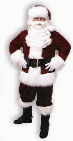 Velveteen Santa Suit Deluxe