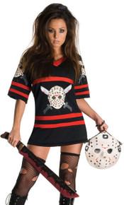Miss Voorhees Dress & Mask Handbag Licensed Friday the 13th