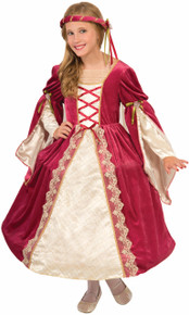 English Princess Child's Costume