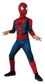 Spiderman Amazing Spider-Man 2 Kids Muscle Chest Licensed Marvel