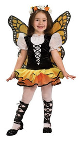 Monarch Butterfly Girl's Tutu Dress w/ Wings