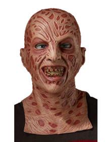 Nightmare on Elm Street Licensed Freddy Krueger Mask Deluxe Long Neck