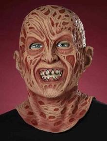 Nightmare on Elm Steet Licensed Freddy Krueger Mask Super Deluxe Full over the head