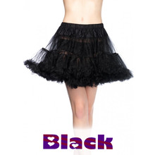 Layered Tulle Petticoat Assorted Colors