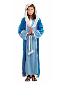 Mary Costume Deluxe Kids Biblical Times