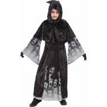 Forgotten Soul Costume Kids Reaper Horror Robe