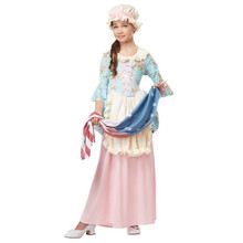 Colonial Lady Betsy Ross Girl's Colonial Costume