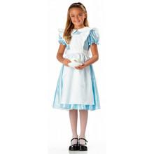 Alice Blue Dress w/ White Apron Child's Costume