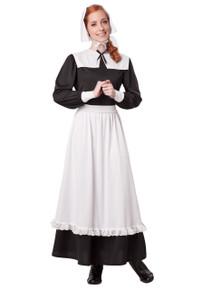 Pilgrim Woman Dress with Apron