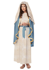 The Virgin Mary Dress w/ Headpiece Women's Costume