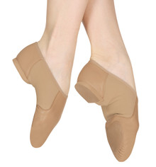 Neo Flex Slip On Jazz Shoes - Tan