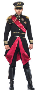 Men's Military General Jacket & Belt