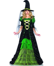 Leg Avenue Storybook Witch Classic Womens Adult Costume