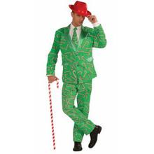 Candy Cane Suit & Tie Christmas Business Suit