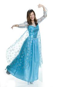 Ice Queen Snowflake Sequin Dress