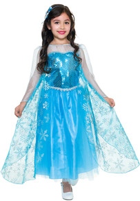 Ice Queen Snowflake Dress