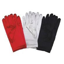 "Gloves Satin Wrist Length 9"""