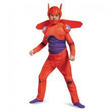 Big Hero 6 - Red Baymax Deluxe Kids Costume