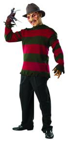 Nightmare on Elm Street Licensed Deluxe Freddy Krueger Shirt & Mask