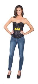 Batgirl Sequin Corset Licensed DC Comics