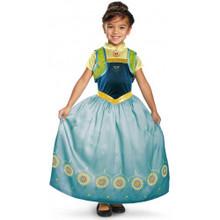 Deluxe Anna Frozen Fever Girl's Disney Princess