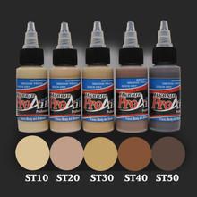 ProAiir Hybrid 1oz Skin Tones Waterproof Face/Body Airbrush Makeup