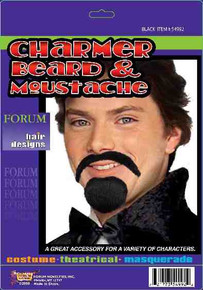Charmer Beard & Mustaches includes Mustache & Goatee
