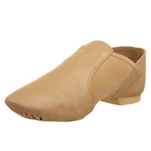 Caramel E-Series Jazz Slip On Split Sole Shoe