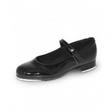 Girl's Rhythm Tap Shoe with Easy Adjust Press Straps