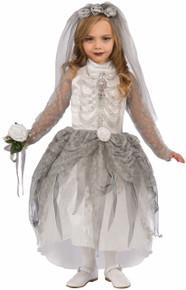 Skeleton Bride Kids Costume