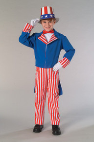 Uncle Sam Costume Kids 4th of July