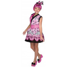 Monster High Draculara Girl's Deluxe Licensed Costume