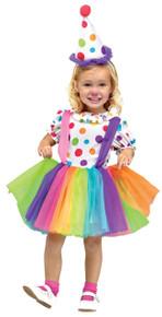 Clown Big Top Fun Toddler Girl's Costume
