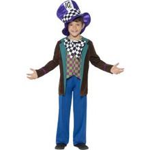 Boy's Deluxe Hatter Top, Pants & Hat