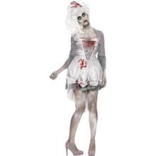 Zombie Georgian Dress & Headpiece (61102)