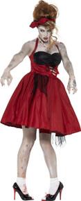 Rockabilly 50's Zombie Dress