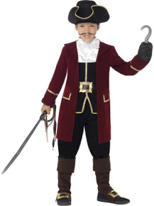 Boy's Deluxe Pirate Captain