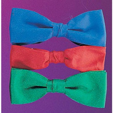Bow Tie Formal Clip On Assorted Colors