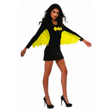 Batgirl Dress with Yellow attached Wings